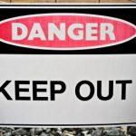 Clamping Dangers