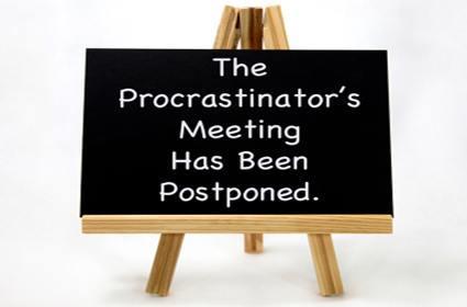 procrastination de-motivational factor for penis exercises