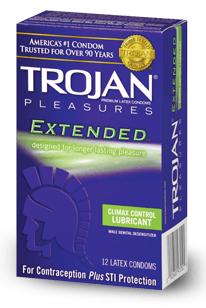 Climax Control Condoms