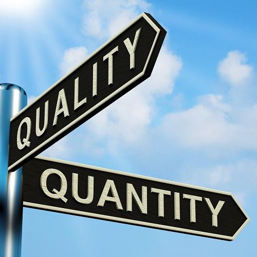 Quantity VS Quality in Penis Enlargement Training