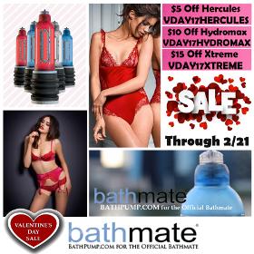 valentines day bathmate sale