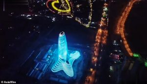 Guangxi New Media Centre penis shaped building 2