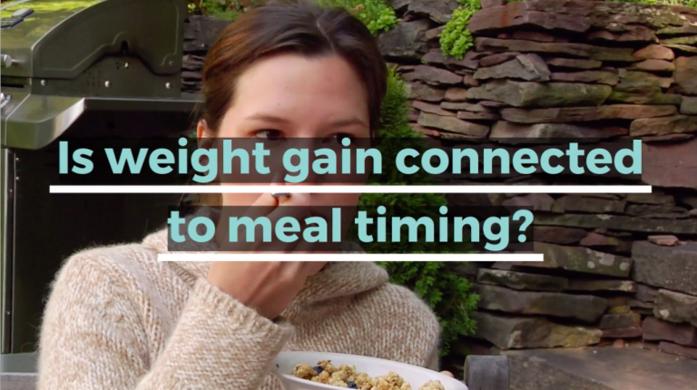 The Connection Between Meal Timing and Weight Gain