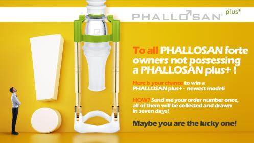 Get a FREE Phallosan Plus!